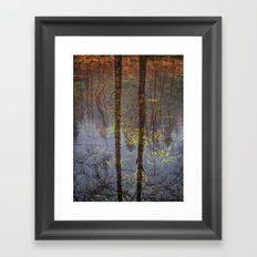 Nature Reflects To Me Framed Art Print
