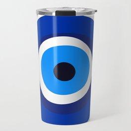 evil eye symbol Travel Mug