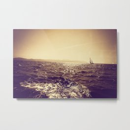 Sailing in Croatia 706 Metal Print