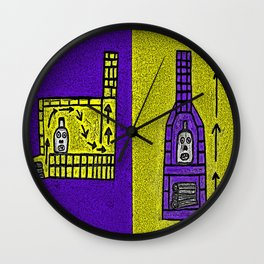 Kiln Wall Clock