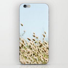 Summer beach land iPhone Skin