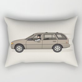 Mobile in the Shop Rectangular Pillow
