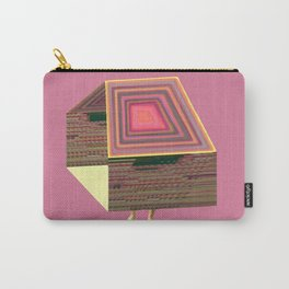 Pink Virtual House Carry-All Pouch