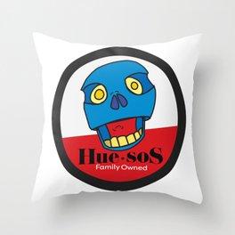 Huesos the guy Throw Pillow