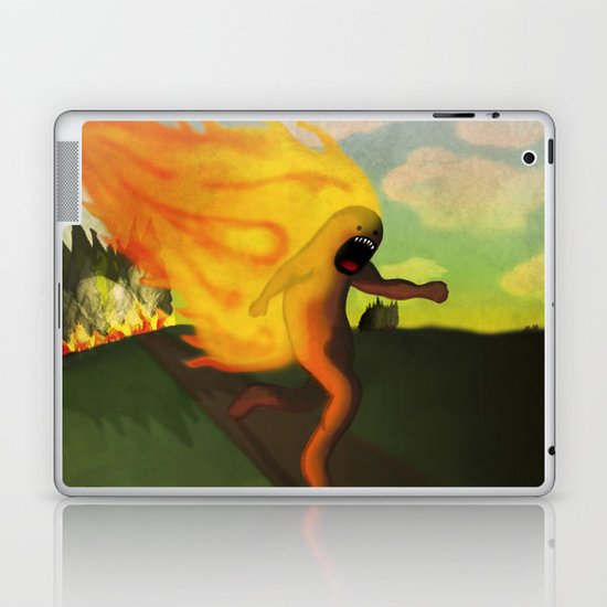 Corriendo Laptop & iPad Skin