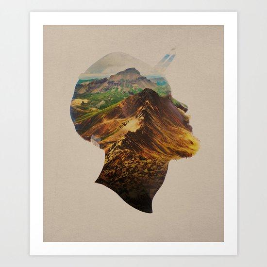 Get Away Art Print