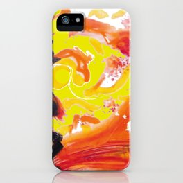 IN A HURRY !                                  by Kay Lipton iPhone Case