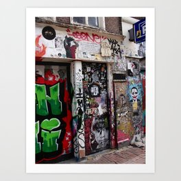 Wijesteeg (Centrum) II, Amsterdam Art Print
