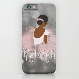Ryleigh Ballerina iPhone Case