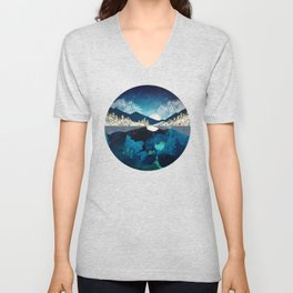 Midnight Water Unisex V-Neck