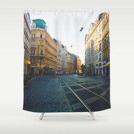Vienna Street Shower Curtain