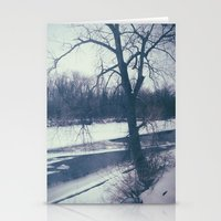 indiana Stationery Cards featuring Indiana by Mt Zion Press