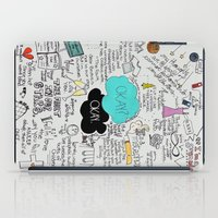 fault in our stars iPad Cases featuring The Fault in Our Stars- John Green by Natasha Ramon