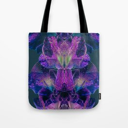 Purple Dew Tote Bag