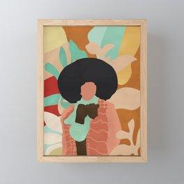 Diva #art print#illustration Framed Mini Art Print