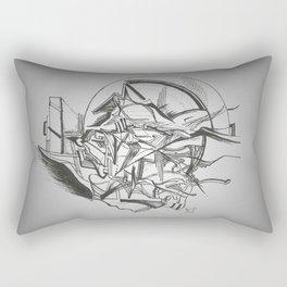 Abstrato #2 Rectangular Pillow