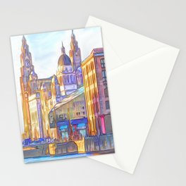 World famous Three Graces (Digital painting) Stationery Cards