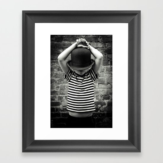 Juvenile Jazz 2 Framed Art Print