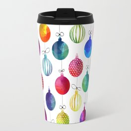 Merry Colorful Xmas Travel Mug