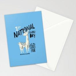 National Llama Day Stationery Cards