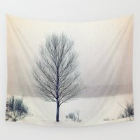birch Wall Tapestries featuring Birch Tree by BACK to THE ROOTS