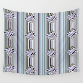 guides colored stripes Wall Tapestry