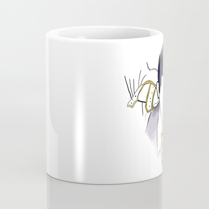 Queen of Mercury Rock Icon Silhouette Coffee Mug
