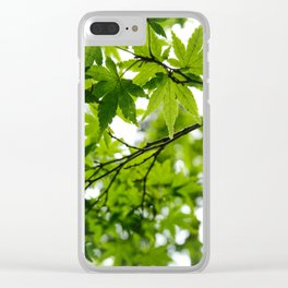 Kyoto Maple Clear iPhone Case
