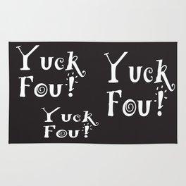 Yuck Foo! Reversed Rug