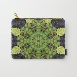 Filigree Foliage Kaleidoscope Carry-All Pouch