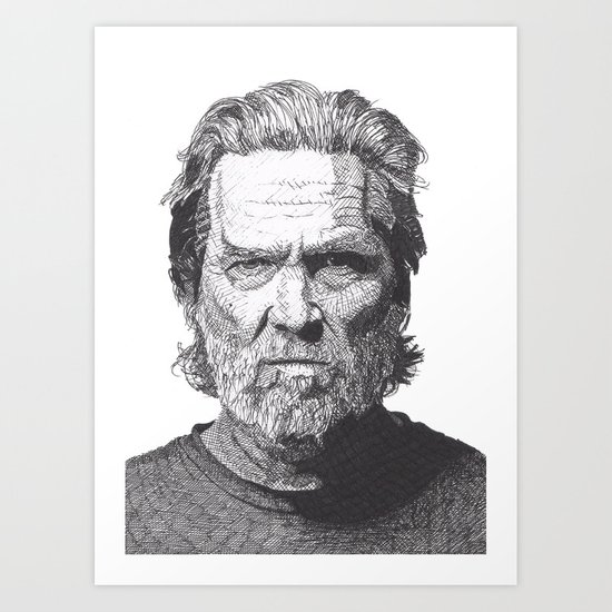 Jeff 2 Art Print