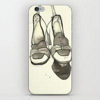 shoes iPhone & iPod Skins featuring Shoes by Zoe Jackson
