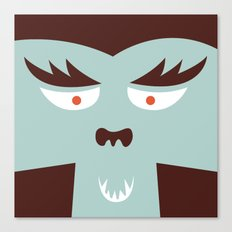The Monster Club - Monster #7 Canvas Print