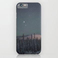 Big White Stars V iPhone 6 Slim Case