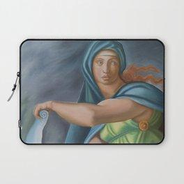 Sibila Delphica. Sistine Chapel. Michael Angelo. Laptop Sleeve