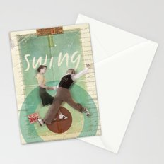 Swing Dance Stationery Cards
