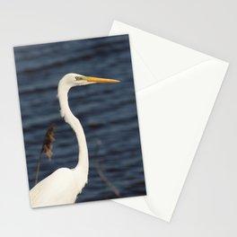 Great White Egret Animal / Wildlife Photograph Stationery Cards