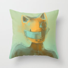 Celty Throw Pillow