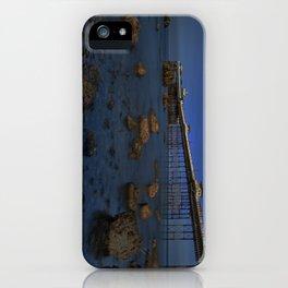 Dusk at Llandudno Pier iPhone Case
