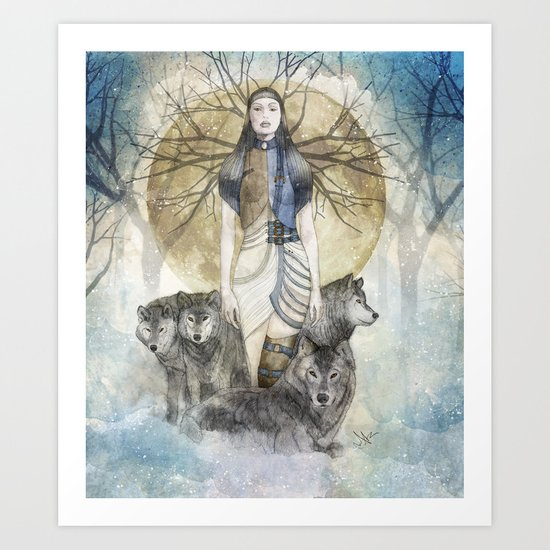Five Souls Art Print