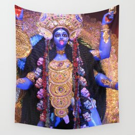 Maha Kali Wall Tapestry