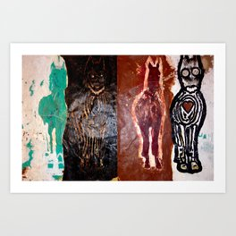 The Care Rot Eaters Art Print
