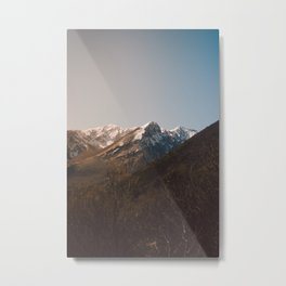 Mountains in the background XVIII Metal Print