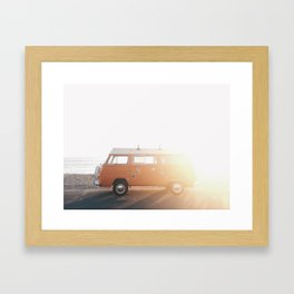 Cruisin' 101 Framed Art Print
