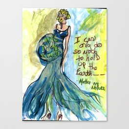 Mother my Nature Canvas Print