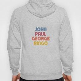 John Paul George Ringo Hoody