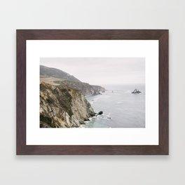 Big Sur - California Hwy 1  Framed Art Print