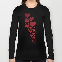 Glowing Garnet Gradient Long Sleeve T-shirt