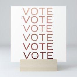 VOTE Mini Art Print
