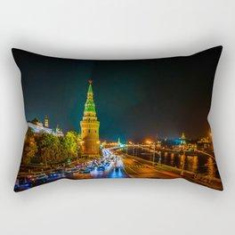 Moscow Kremlin At Night Rectangular Pillow